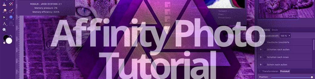 Affinity Photo Tutorial Titel
