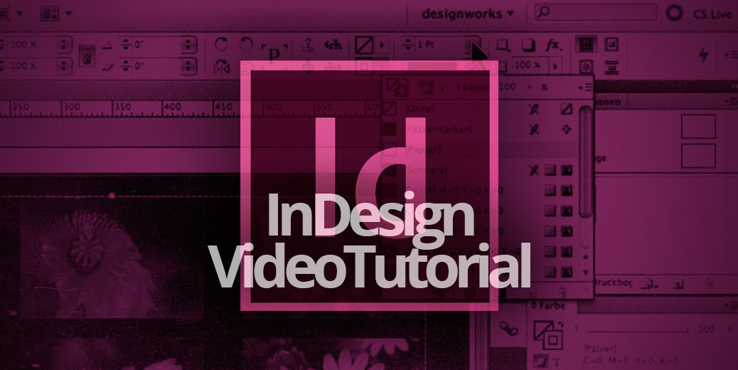 InDesign VideoTutorial Titelbild Gross