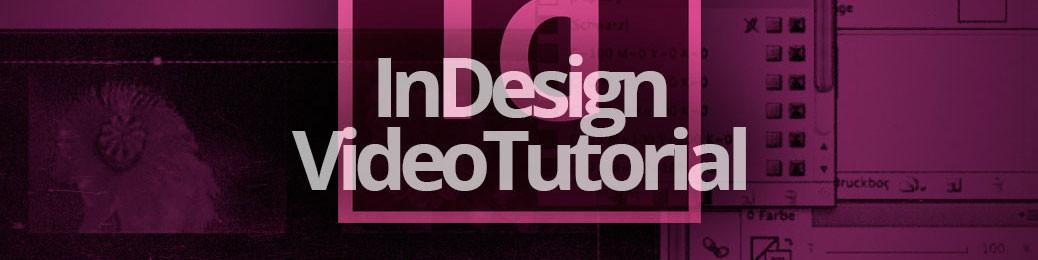 InDesign VideoTutorial Titelbild