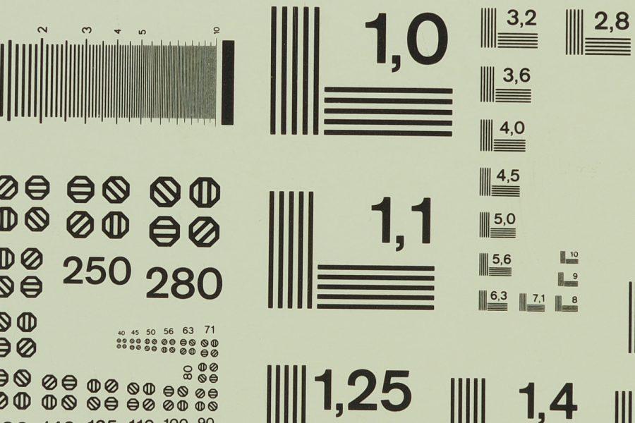 Aufnahme mit vier UV-Filtern