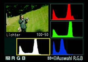 Histogramm Nikon D700