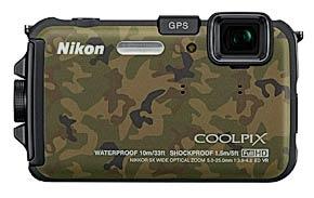 Nikon AW100 CM front