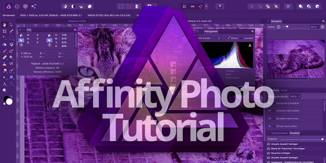 Affinity Photo Tutorial Titelbild Gross
